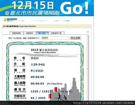 2013台北富邦馬拉松-9K成績.jpg
