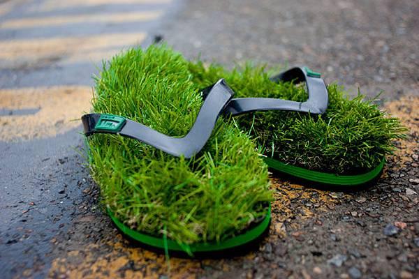 Kusa Grass Flip Flops