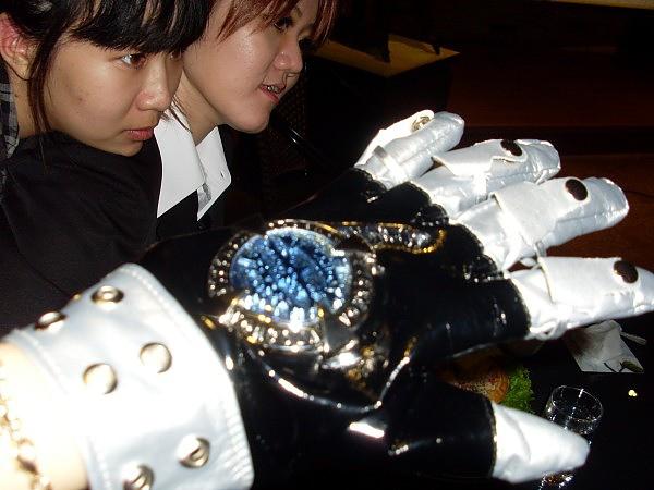 綱吉的手套--借來試戴