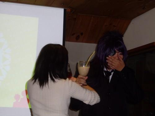 國王遊戲之庫洛姆與來賓的交杯酒