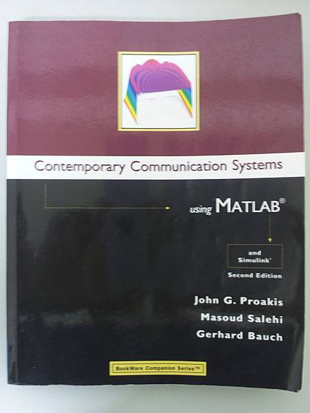 [賣書] Contemporary Communication Systems using MATLAB, 2nd Edition