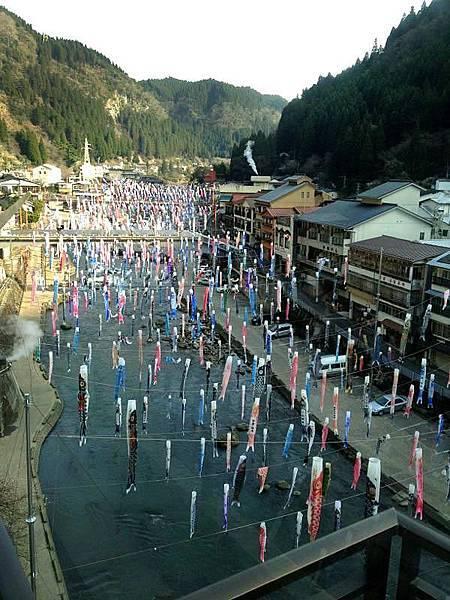 【九州杖立溫泉鄉‧鯉魚旗祭】領隊 順博の現場連線報導