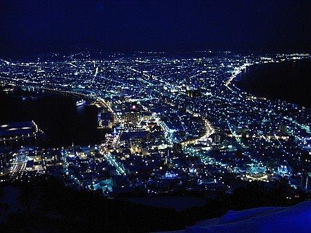 0412-北海道的函館與香港,拿坡里並列為世界三大夜景。