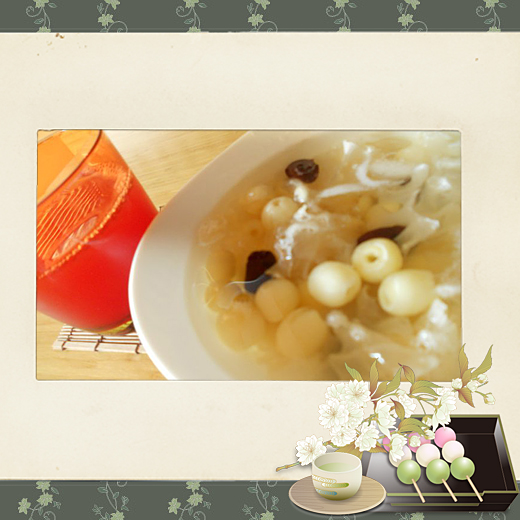 9夏日清涼甜品~銀耳蓮子湯