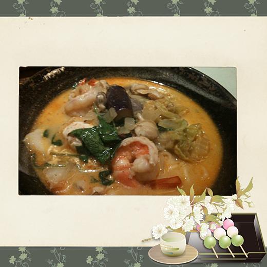 10自製新加坡~叨沙海鮮拉麵