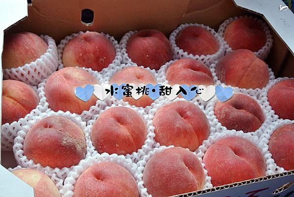出團前,親愛的領隊們應該聽到耳朵都長繭了吧!買日本當季盛產的水果給大家品嘗喔。現在好吃的水蜜桃,讓人吃了甜蜜入心呀♥