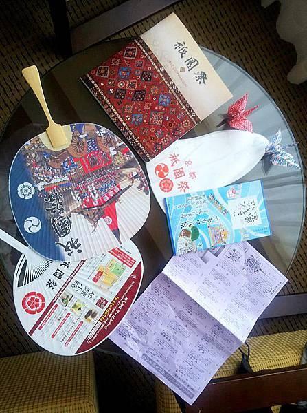 魏小馬說:今天京都祇園祭,山鉾巡行結束囉XD 久違了京都大倉,能住這裡真好!!