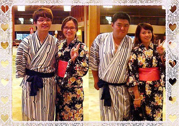 好♥幸福!來日本渡蜜月,這套也好好看。其實,新娘子穿什麼款都好看~~幸福加持呦 ^O^
