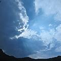 北海岸的雲