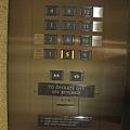 茂昌閣-沒有刷卡不能按的電梯