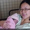 第一張母子合照