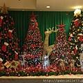 威斯汀飯店內的聖誕裝飾