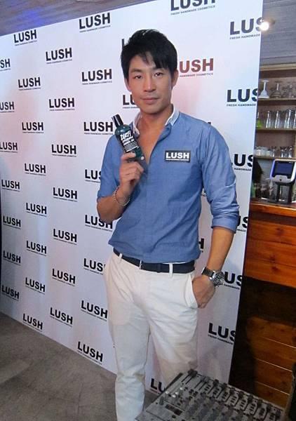 """LUSH """"DIRTY MAN時尚新迷男"""" 發表會"""