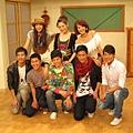 飯糰之家的主要年輕演員們