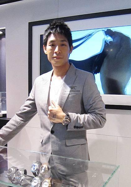 IWC萬國錶SOGO概念店開幕03