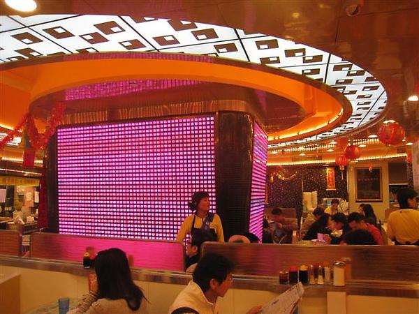 內部裝飾 翠華餐廳