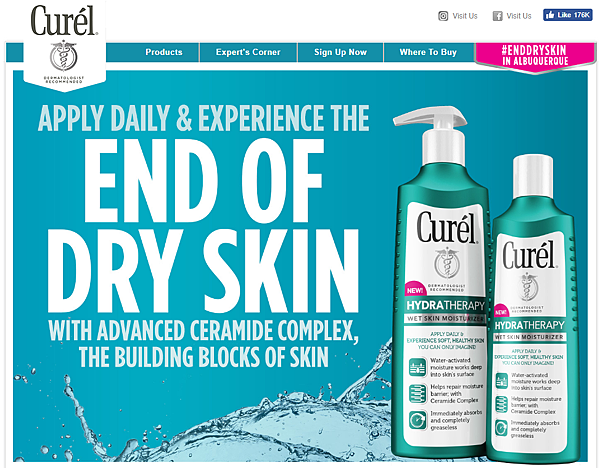 Curel Skin Care Lotions Moisturizers and Creams.png