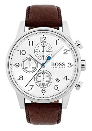 AmazonSmile  Boss NAVIGATOR CLASSIC 1513495 Mens Chronograph Classic   Simple  Hugo Boss  Watches.png
