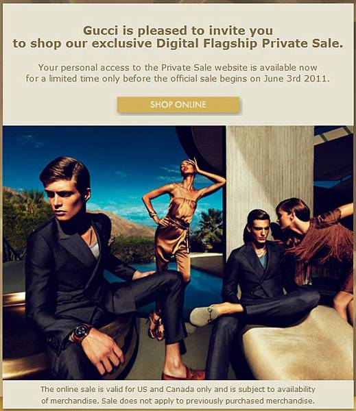 8cabbbfbe93 好康特價  Gucci Private Sale   GAGAWOOLALA your Personal Shopper ...