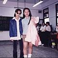 高中時我跟明娟是最佳的演戲好夥伴~現在他去當國小老師了~
