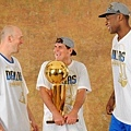 Mark Cuban, Brian Cardinal, and Brendan Haywood.jpg