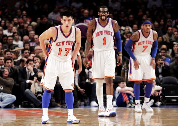 Jeremy-Lin-Amare-Stoudemire-and-Carmelo-Anthony