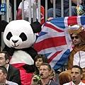 熊貓也要看奧運籃球!! 1