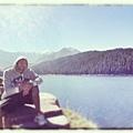 Ricky Rubio 湖邊度假