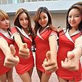 韓國F1 賽車女郎 8