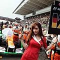 韓國F1 賽車女郎 12