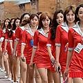 韓國F1 賽車女郎 14