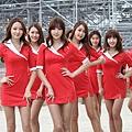 韓國F1 賽車女郎 13