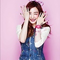 SNSD Tiffany Casio Kiss Me Baby-G Pics