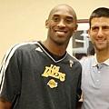 Novak Djokovic與Kobe