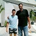 Novak Djokovic與Vlade Divac