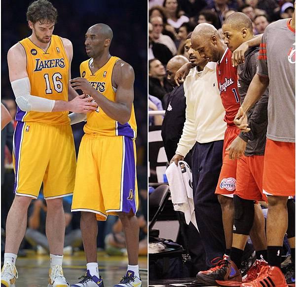 Kobe 傷
