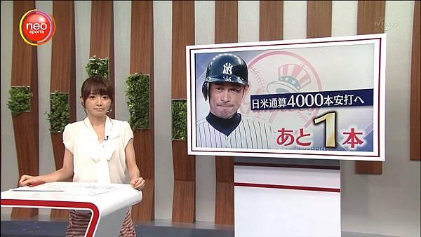 鈴木一朗美日通算4000安 37