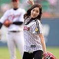 太妍&徐玄 韓職開球
