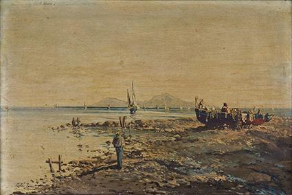 拿坡里海邊          1883
