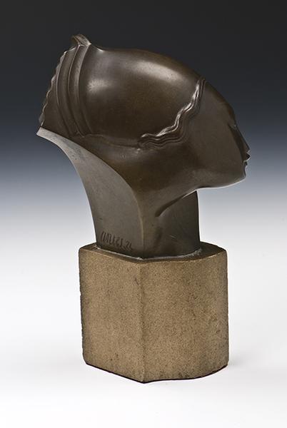 側臉   1924