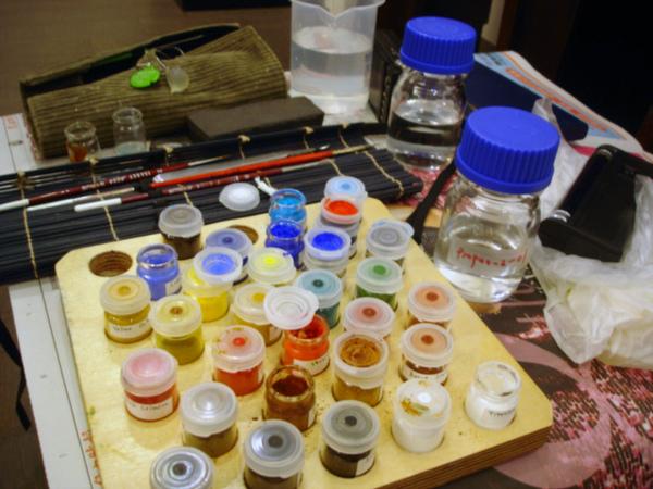 品質好的色粉經過百年測試不會變質變色