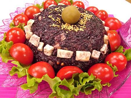 梅子紫米糕