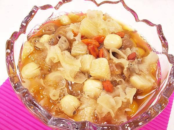 蜂蜜山藥蓮子湯