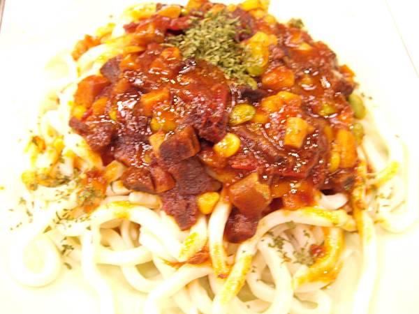番茄香菇素醬麵