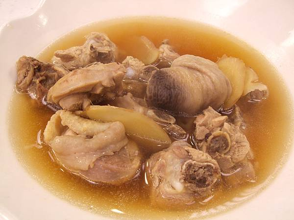 鮮雞甲魚湯