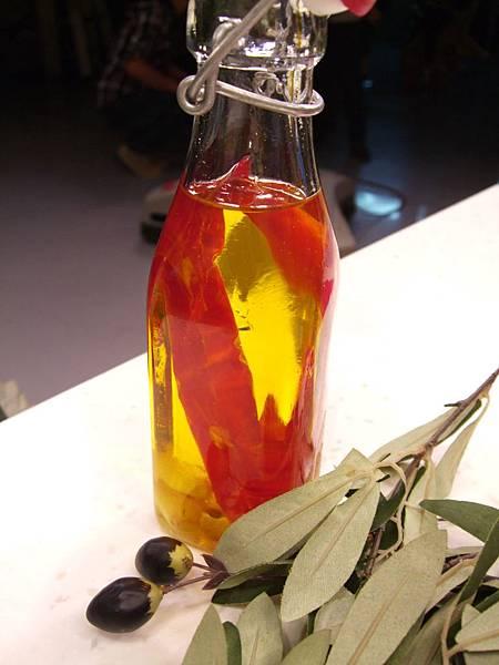 蒜味辣椒橄欖油