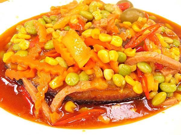 梅子燒魚1