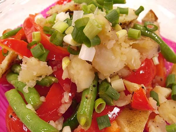 馬鈴薯四季豆溫沙拉