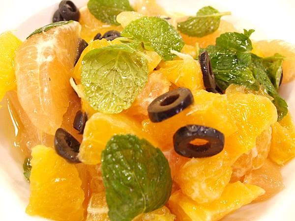葡萄柚橘子沙拉
