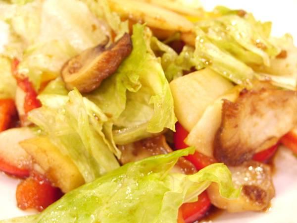 鮮菇油醋沙拉